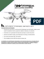 Drone SYMA SW5
