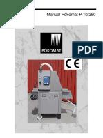 Manual Pokomat P 10/280