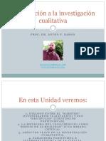 Unidad 1_introduccion a La Investigacion Cualitativa