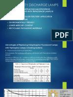 2 - Low Intensity Discharge Lamps Part 2