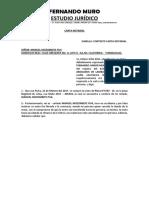 Carta Notarial Yurimaguas
