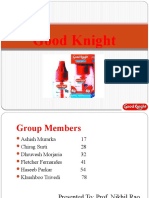 Good Knight Brand PPt