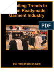 Prevailing Trends in Indian Readymade Garment Industry