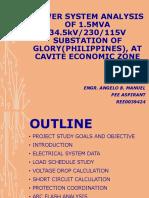 Power System Analysis Summary Evaluation
