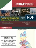 Yacimientos Mineros en (Cutervo, Jaén, San Ignacio, San Miguel, San Pablo).ppt