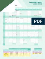 calendário escolar