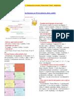 """CHESTIONAR pe tema anului 2010 - """"Combaterea saraciei si a excluziunii sociale"""" - aplicat de Ziua Europei pe 59 subiecti, elevi (complementar cu doc. Marca rRo = EU)"""