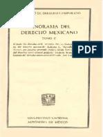Panorama del Derecho Mexicano
