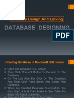 Database Design and Linking