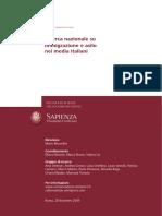 09 RICERCA NAZIONALE Su Immigrazione e Asilo Nei Media Italiani