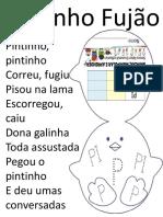 Pintinho Letra p