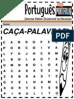 Português Ensino Fundamental Caça Palavras 1