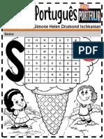 Português Ensino Fundamental Letra s Inicial 1