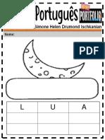 Português Ensino Fundamental Palavras 1