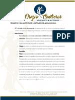Requisitos Para Escritura de Constitución de Asociación Civil