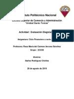Ibañez Cristina Evaluación Diagnostica