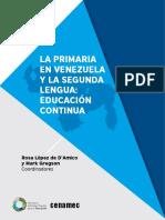 LA PRIMARIA EN VENEZUELA Y LA SEGUNDA LENGUA EDUCACION CONTINUA.pdf