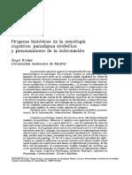 Psicología Cognitiva- Riviere