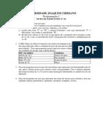 Programacao I Ficha Nr. 2 2019