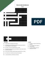 Puzzle Fracciones Decimale1