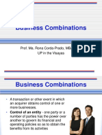 1 - Business Combinations