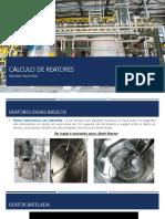 Slide de Reatores industriais