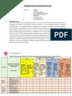 Planificación Anual i.e. Triunfo 2019 4º Secundaria Actualizado 18 04 19