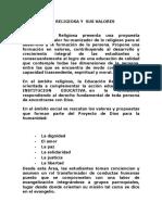 LA EDUCACION RELIGIOSA Y  SUS VALORES GRADO SEXTO.docx