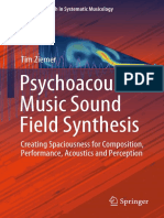 Psychoacoustic Music Sound Field Synthesis