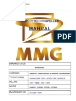 Fixed pitch propeller manual