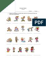 Guía Verbos 4to Básico
