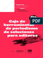 Caja de herramientas de periodismo de soluciones para el editor