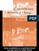 Cycles, Growth and Structural Change
