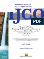 The Johari Window Exploring the unconscious processes of interpersonal relationships and the coaching engagement by Bergquist 2009.pdf