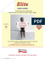 Britax Two way elite user manual