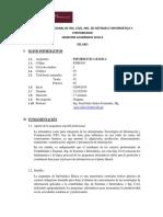 Silabo Informática Basica 2019-II