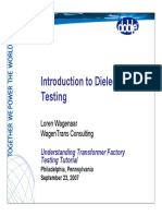 introduction dielectric test