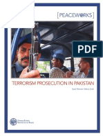 USIP Terrorism Prosecution in Pakistan