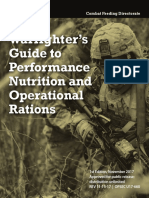 Warfighters guide to performance nutrition and operational rations