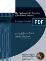 Fundt Distortion of Islamic Message ATHENA