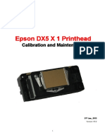 Instalacion de Epson Dx5 x 1 Printhead