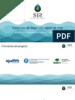 Sistemas de Riego Con Agua de Mar