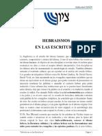 Hebraismos en Las Escrituras - PDF
