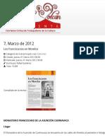 MONASTERIO FRANCISCANO DE LA ASUNCIÓN CUERNAVACA