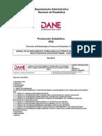 Manual de Diligenciamiento Formulario Unico Censal Investigacion EDUC