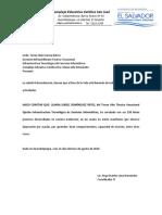 Constancia Horas Prácticas Parroquial 2019