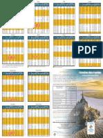 Horaire Des Marees 2019 PDF