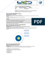 Estudios Sociales Octavo Diagnostico