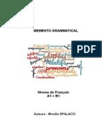 Memento Grammatical a1 b1 M SPALACCI