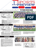 Fall Sports Preview 2019